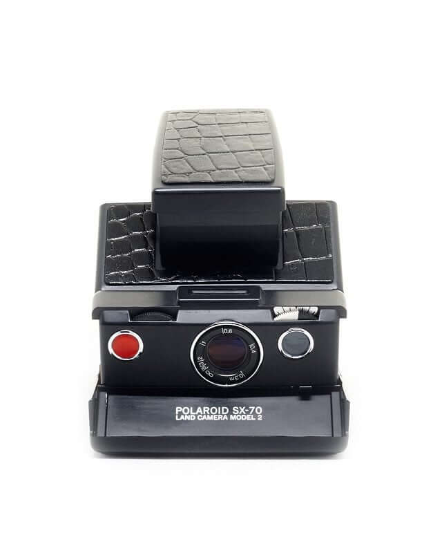 Polaroid_SX-70_crocodile_skin
