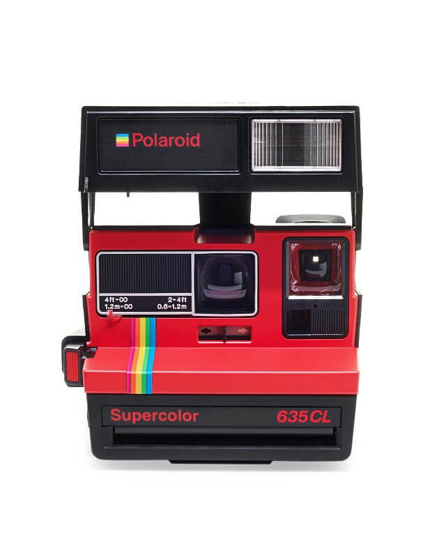 polaroid 635 supercolor cl red. Black Bedroom Furniture Sets. Home Design Ideas