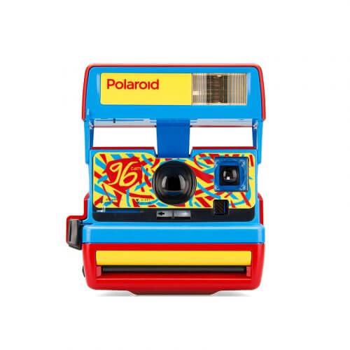 Polaroid 600 Camera - 96 Cam - Jazz Red