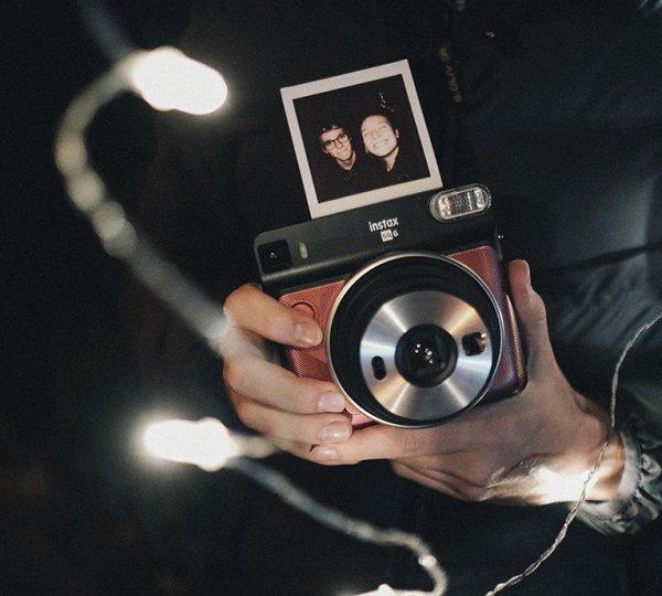 Polaroid na večírku