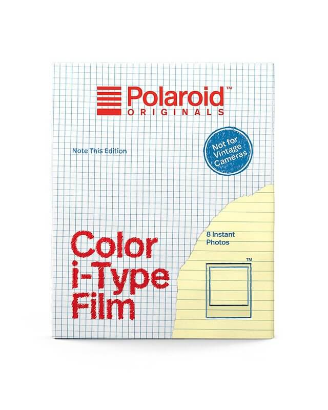 Polaroid Color Film I-TYPE Note This Edition